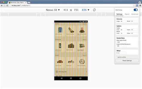 grid layout chrome design grid overlay chrome extension the grid system