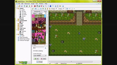 tutorial online game game maker tutorial the basics of an rpg game youtube