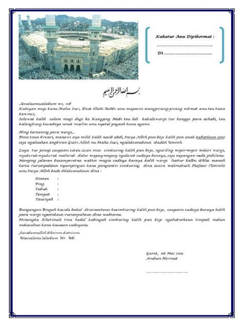 36 berbagai koleksi contoh undangan syukuran terkini