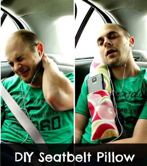 how to make your car comfortable 16 coolest pillow ideas tutorials you will love