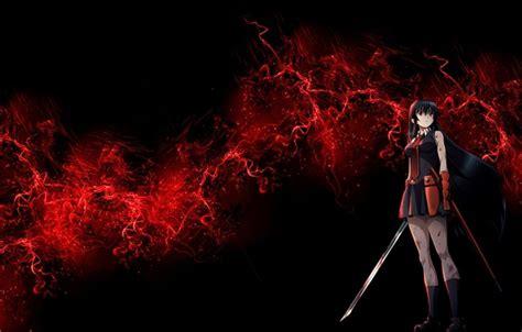 anime girl killer wallpaper wallpaper anime akame akame ga kill girl sword killer