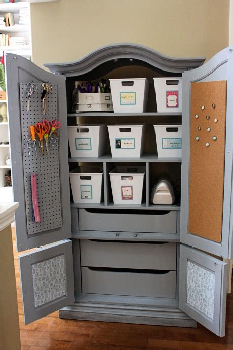 crafting armoire craft armoire craft ideas pinterest