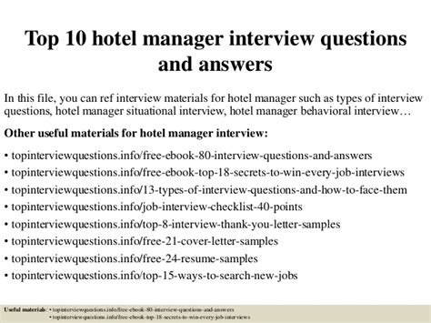 front desk interview questions other job interview front office