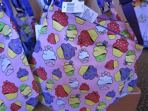 New Totebag Cup Cake B disney merchandise the disney food