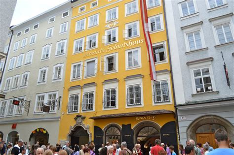 mozart born in austria image gallery house in salzburg mozart