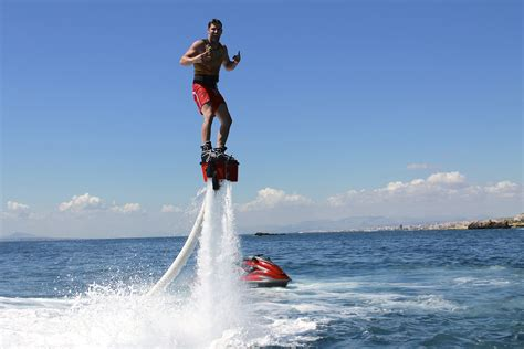 new year water activities flyboard is awesome new sport weirdworld