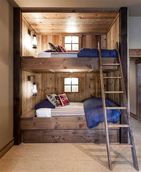 Built In Bunk Bed Designs Best 25 Bunk Bed Decor Ideas On Pinterest Bunk Beds Bunk Beds For Boys And In Bed
