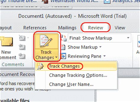 word 2007 view modes document view 171 editing 171 microsoft how to enable track changes mode in word 2013 2010