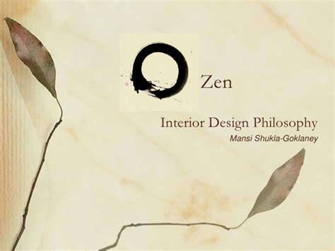 what is zen design zen philosophy of interior design