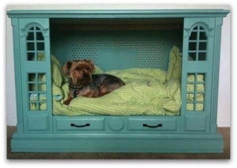 old dresser into dog bed make dog bed out of an old dresser or entertainment center