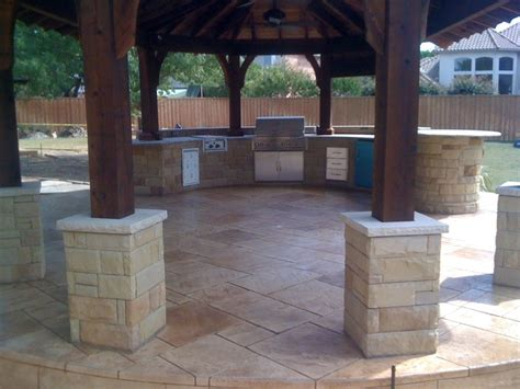 outdoor kitchen pictures texas  fence
