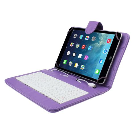 Lcdompet Tablet Universal 7in 7 inch universal leather cover with micro usb keyboard for tablet pc 11street malaysia bags