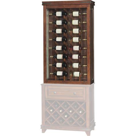 Wine Curio Cabinet by International Mayfield Wine Curio Top Display