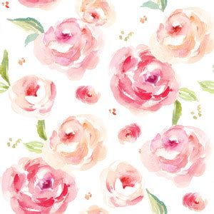 watercolor roses pattern silhouette design store view design 175372 roses are