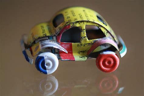 como hacer carrito con material reciclable juguetes ideas para jugar y festejar reciclaje juegos