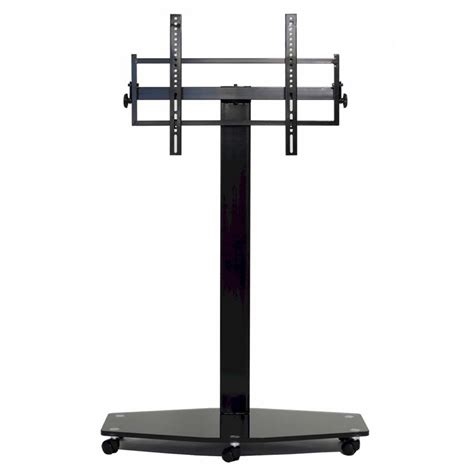 80 Inch Tv Mount by Transdeco 80 Inch Tv Floor Pedestal Mounting System With