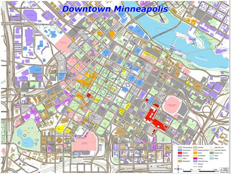maps minneapolis minneapolis map downtown