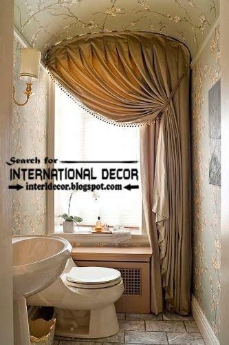 modern bathroom window curtains modern pinch pleated curtains for bathroom window covering