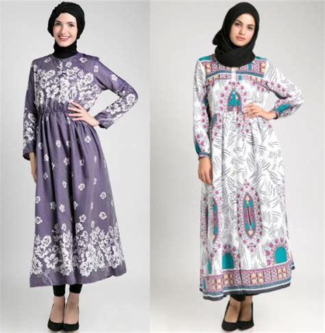 Fashion Baju Gamis Muslim model baju gamis batik 5 fashion muslim fashion muslim