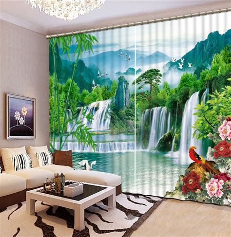 Waterfall Valances For Living Room Aliexpress Buy Home Decoration Living Room