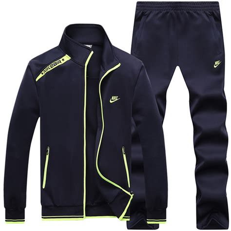 mens jacket sportswear tracksuit set leisure