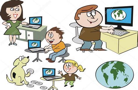 ver series dibujos animados en internet en vivo online gratis dibujos animados de vector de familia feliz usando