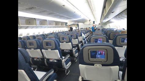 United Airlines | 777-200 | Economy Plus | Trip report ... United Airlines 777 Interior