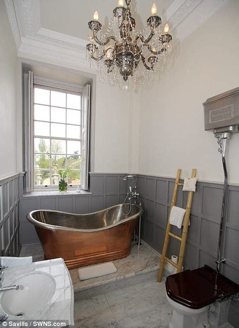 downton abbey bathroom house which doubles for home of downton abbey character up for sale daily mail online