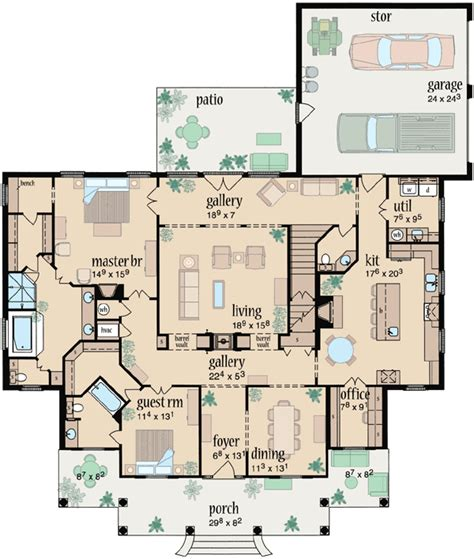 monster home plans southern style house plans 3070 square foot home 2