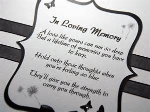 In Loving Memory Wedding Amara Handmade Sympathy Card