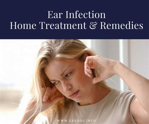 outer ear infection home treatment remedies