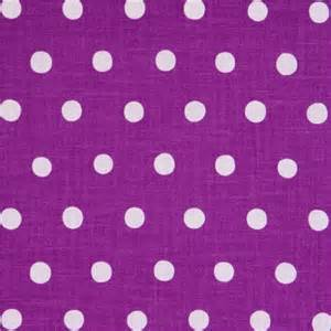 Kitchen Cabinet Paints by Purple Echino Canvas Fabric With Lilac Polka Dots Fabric