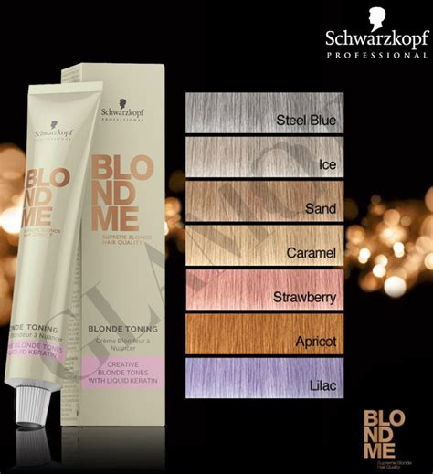schwarzkopf professional blond me blonde toning steel schwarzkopf professional blondme blonde toning glamot com