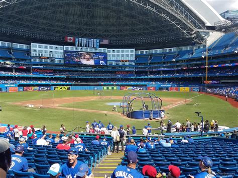 rogers centre section 119 rogers centre section 123 toronto blue jays