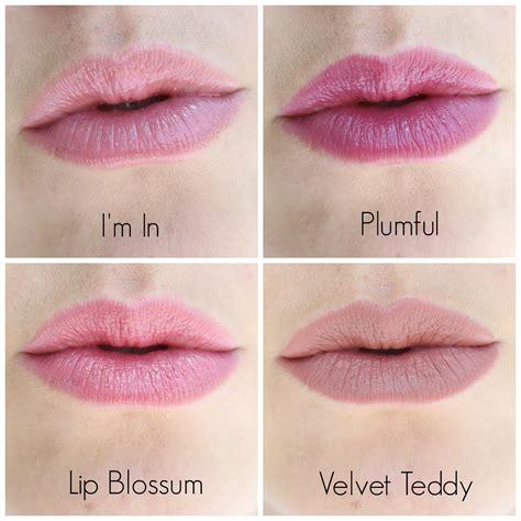 Mac Velvet Teddy Lipstick mac lipstick swatches i m in plumful lip blossum velvet