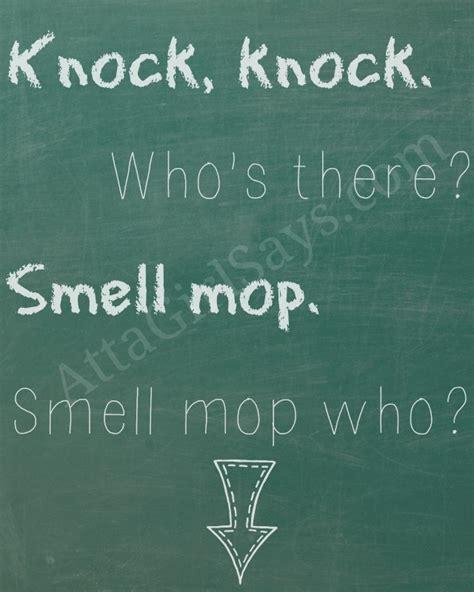 Bathroom Knock Knock Jokes by Motherhood Monday Kid Friendly Potty Humor Printables