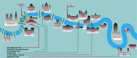 thames river cruise map london thames transportation