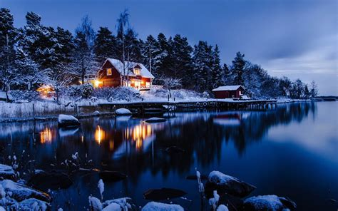 free wallpaper gallery free winter cabin wallpaper images wallpapersafari