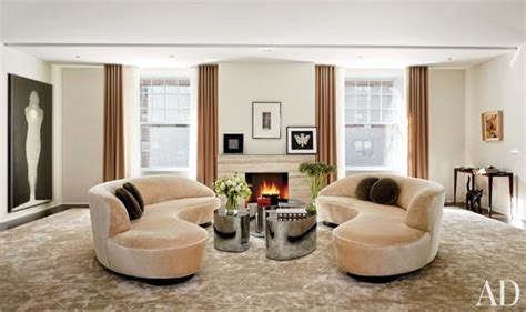 modern meets luxury in these nyc living rooms porch advice vladimir kagan design inspiration moderne salon new