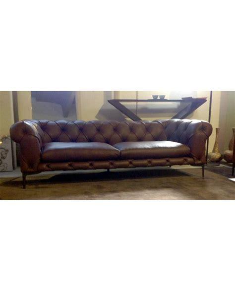 valdichienti divani valdichienti divano harrison 4 posti in pelle pieno fiore