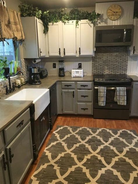 mobile home decorating pinterest 13 different ways to make your own concrete kitchen