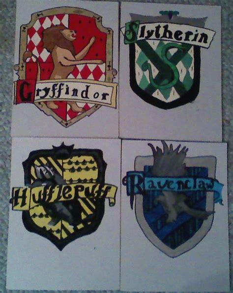 4 houses of hogwarts the 4 houses of hogwarts by colleenxtycoon on deviantart