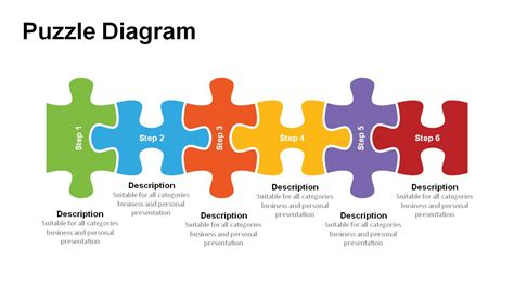 Jigsaw Puzzle Pieces Powerpoint Templates Powerslides Jigsaw Puzzle Template Powerpoint