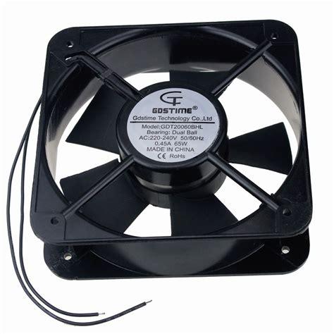 axial exhaust fans industrial 2pcs gdstime 200mm 200x60mm ac 220v 240v 20cm axial