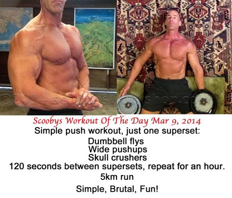 swod scooby s workout of the day scooby s home workouts