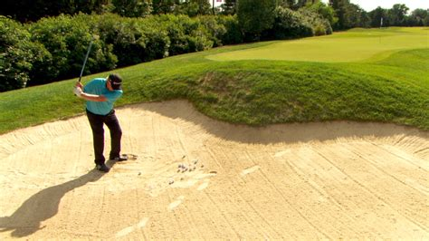 hale irwin golf swing hale irwin s long bunker shot tips golf channel
