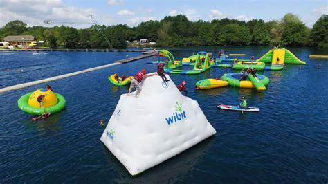aqua smyths new forest water park wakeboard aqua park