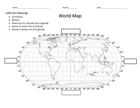 printable world map with lat and long best photos of world continents outline map with latitude