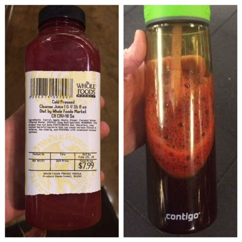 Whole Foods Detox Juice by Whole Foods Waters Its Cold Pressed Juices