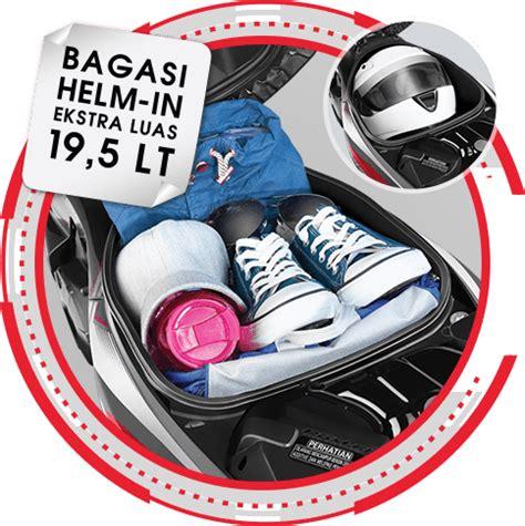 Bagasi Tengah Supra X 125 Fi Anisa Counter Sales Dealer Nagamas Motor Klaten Supra